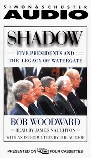 Cover of: Shadow | Bob Woodward