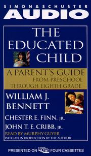 Cover of: The Educated Child |