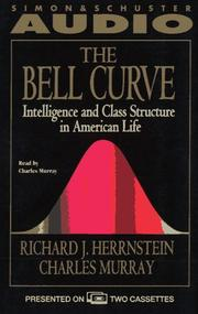 Cover of: The Bell Curve