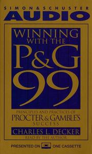 Cover of: WINNING WITH THE P&G 99 by