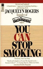 Cover of: You Can Stop Smoking