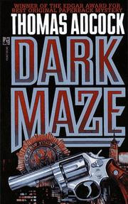 Cover of: Dark maze: DARK MAZE (Neil Hockaday Mystery)