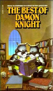 Cover of: Best Damon Knight