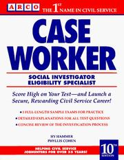 Cover of: Arco Case Worker