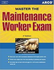 Cover of: Master the Maintenance Workers Exam