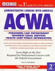 Cover of: ACWA