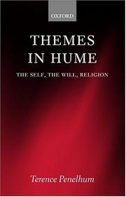 Themes in Hume