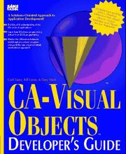 Cover of: CA-Visual objects