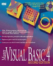 Cover of: Master Visual Basic 4