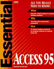 Cover of: Essential Access 95