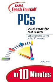 Cover of: Sams teach yourself PCs in 10 minutes