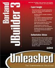 JBuilder 3 Unleashed by Neal Ford, Ed Weber, Talal Azzouka, Terry Dietzler, Casey Williams