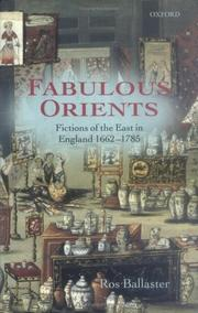 Cover of: Fabulous orients | Rosalind Ballaster
