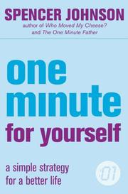 Cover of: One Minute For Yourself (One Minute Manager)