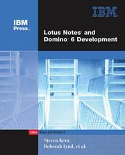 Lotus Notes and Domino 6 development