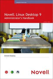 Cover of: Novell Linux Desktop 9 Administrator