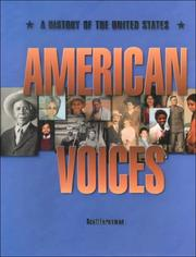 Cover of: American Voices: A History of the United States
