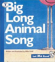 Cover of: Big Long Animal Song