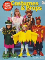 Cover of: Nifty, thrifty, no-sew costumes & props