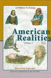 Cover of: American Realities: Historical Episodes