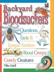 Cover of: Backyard Bloodsuckers