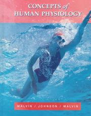 Cover of: Concepts of human physiology
