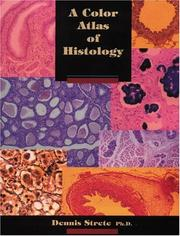 Cover of: A color atlas of histology