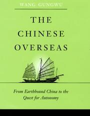 Cover of: The Chinese Overseas | Wang Gungwu