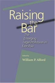 Cover of: Raising the bar