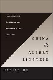 Cover of: China and Albert Einstein | Danian Hu