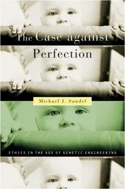 Cover of: The Case against Perfection