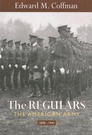 Cover of: The Regulars | Edward M. Coffman