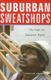 Suburban Sweatshops by Jennifer Gordon, Jennifer Gordon