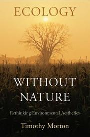 Cover of: Ecology without Nature