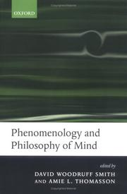 Cover of: Phenomenology and Philosophy of Mind |