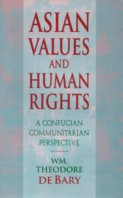 Cover of: Asian values and human rights