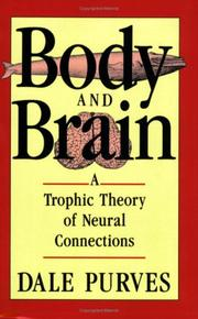 Cover of: Body and Brain | Dale Purves