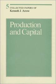 Cover of: Production and capital