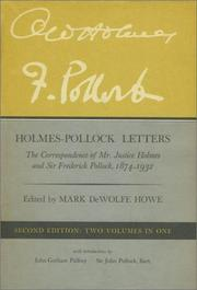 Holmes-Pollock Letters