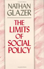 Cover of: The limits of social policy
