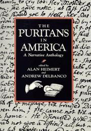 Cover of: The Puritans in America |