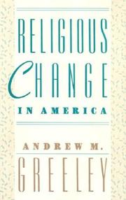 Cover of: Religious change in America