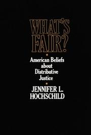 Cover of: What's fair?