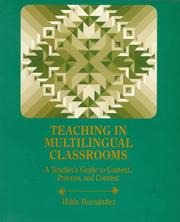 Cover of: Teaching in multilingual classrooms