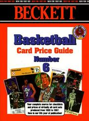 Cover of: Beckett Basketball Card Price Guide | James, III Beckett
