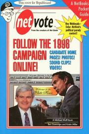 Cover of: Net vote: follow the 1996 campaign online!