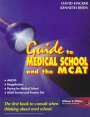 Cover of: Guide to medical school and the MCAT