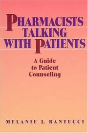Cover of: Pharmacists talking with patients