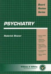 Cover of: Psychiatry