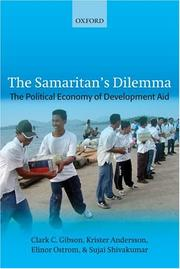 Cover of: The samaritan's dilemma